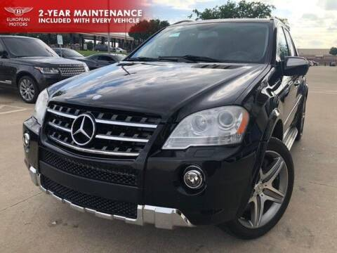 2009 Mercedes-Benz M-Class for sale at European Motors Inc in Plano TX