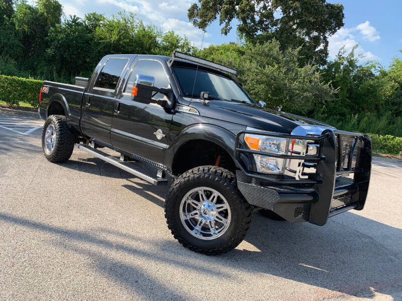 2012 Ford F-250 Super Duty for sale at ROGERS MOTORCARS in Houston TX