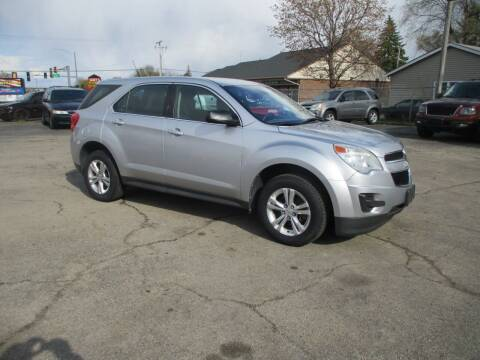 2012 Chevrolet Equinox for sale at RJ Motors in Plano IL