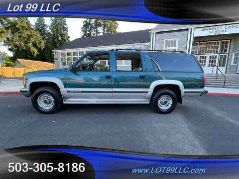 1993 GMC Suburban for sale at LOT 99 LLC in Milwaukie OR
