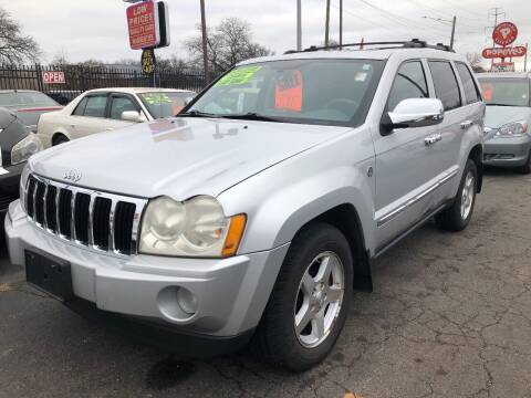2005 Jeep Grand Cherokee for sale at RJ AUTO SALES in Detroit MI