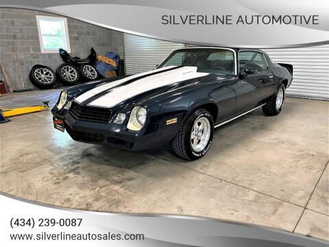 1980 Chevrolet Camaro for sale at Silverline Automotive in Lynchburg VA