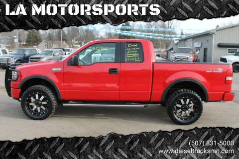 2006 Ford F-150 for sale at LA MOTORSPORTS in Windom MN