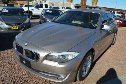 2012 BMW 5 Series for sale at A AND A AUTO SALES - Yuma Location in Yuma AZ