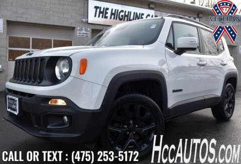 2017 Jeep Renegade for sale at The Highline Car Connection in Waterbury CT