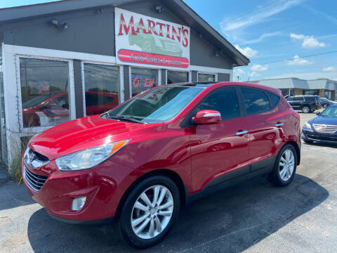 2011 Hyundai Tucson for sale at Martins Auto Sales in Shelbyville KY