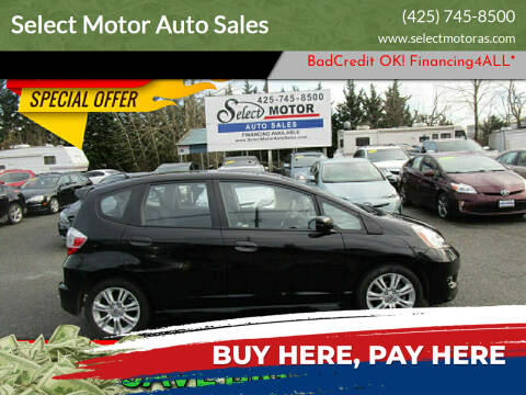 2011 Honda Fit for sale at Select Motor Auto Sales in Lynnwood WA