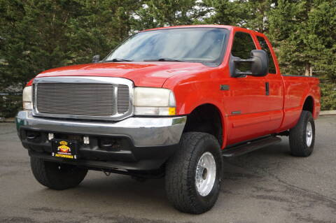 2002 Ford F-250 Super Duty for sale at West Coast Auto Works in Edmonds WA