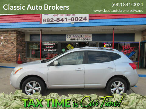 2009 Nissan Rogue for sale at Classic Auto Brokers in Haltom City TX