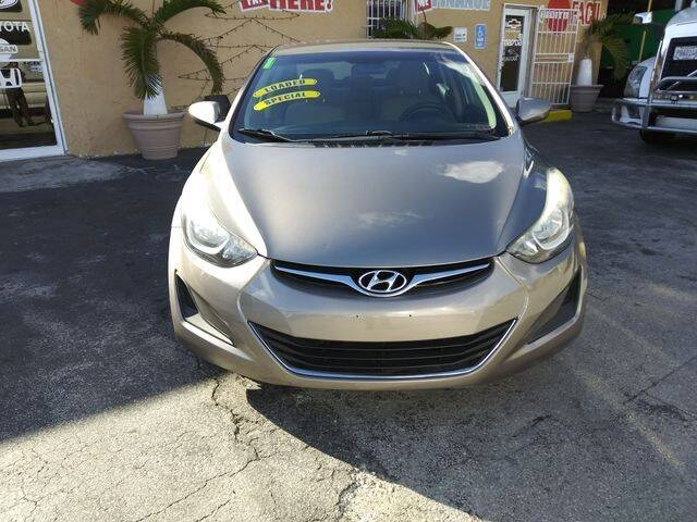 2014 Hyundai Elantra for sale at VALDO AUTO SALES in Miami FL