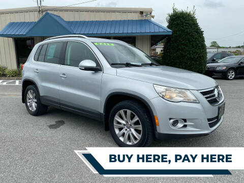 2009 Volkswagen Tiguan for sale at German Automotive Service & Sales in Knoxville TN