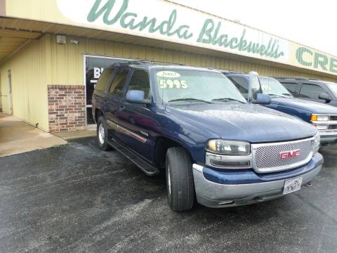 2002 GMC Yukon for sale at Credit Cars of NWA in Bentonville AR