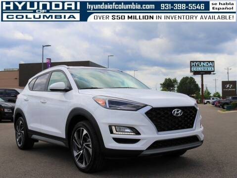 2020 Hyundai Tucson for sale at Hyundai of Columbia Con Alvaro in Columbia TN