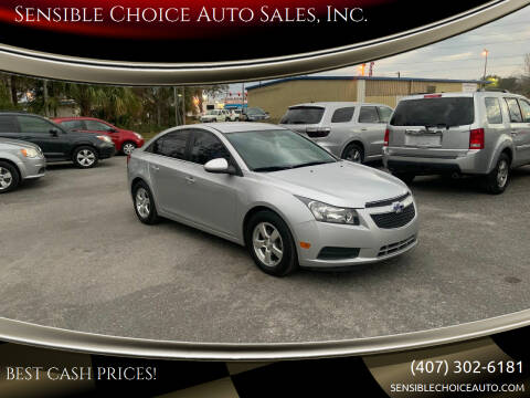 2014 Chevrolet Cruze for sale at Sensible Choice Auto Sales, Inc. in Longwood FL