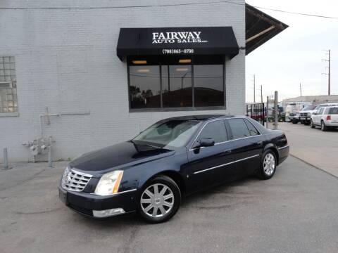 2006 Cadillac DTS for sale at FAIRWAY AUTO SALES, INC. in Melrose Park IL
