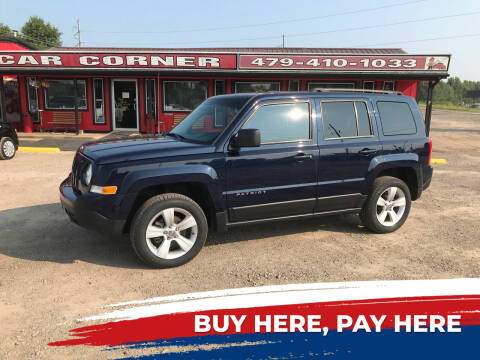 2016 Jeep Patriot for sale at CAR CORNER in Van Buren AR
