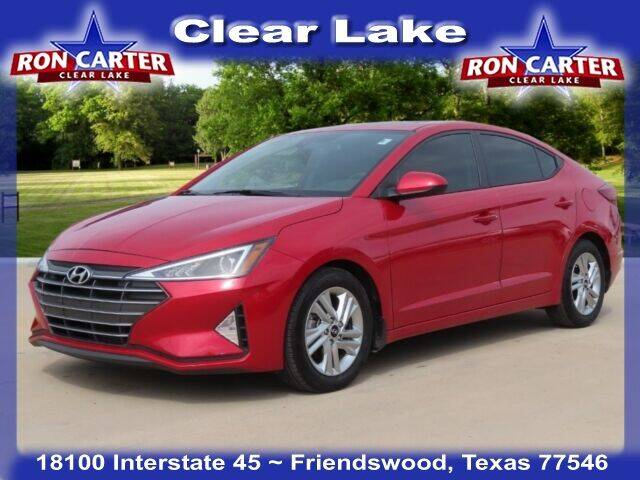 2020 Hyundai Elantra for sale at Ron Carter  Clear Lake Used Cars in Houston TX
