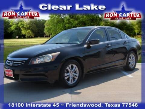 2012 Honda Accord for sale at Ron Carter  Clear Lake Used Cars in Houston TX