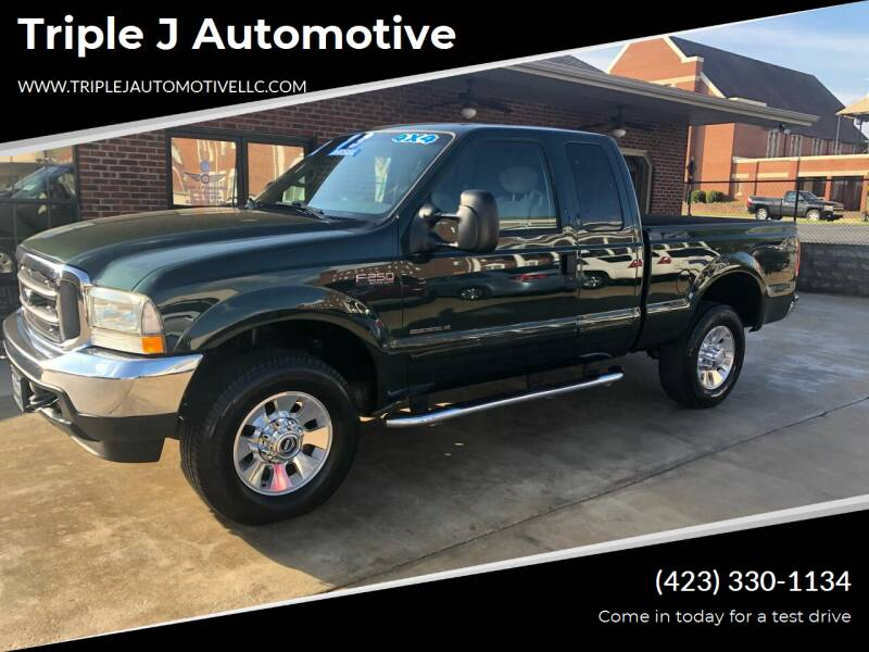 2002 Ford F-250 Super Duty for sale at Triple J Automotive in Erwin TN