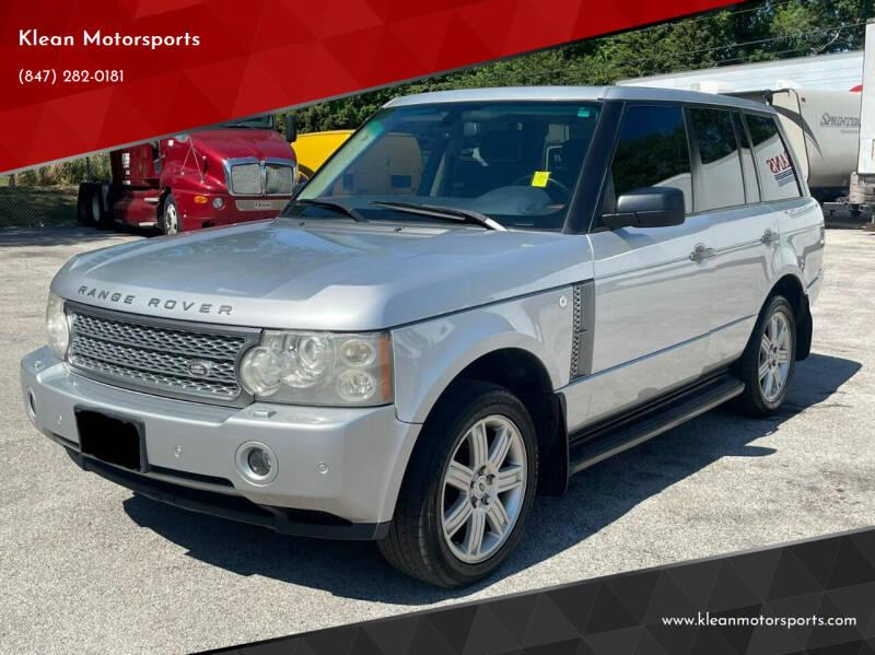 2006 Land Rover Range Rover for sale at Klean Motorsports in Skokie IL