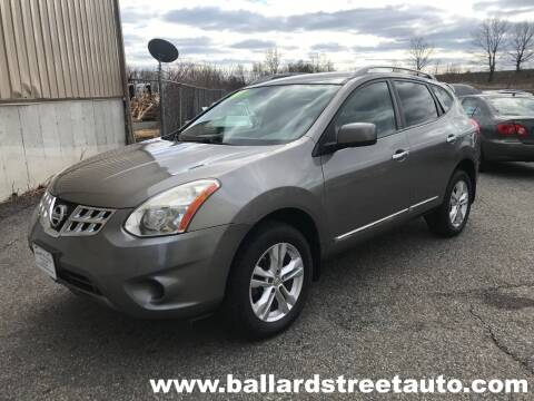 2012 Nissan Rogue for sale at Ballard Street Auto in Saugus MA