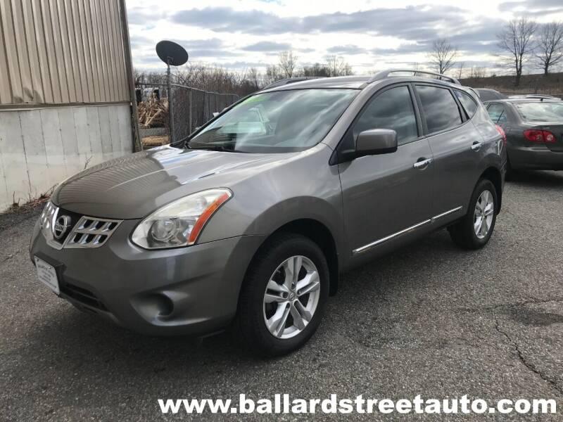 2012 Nissan Rogue for sale at Ballard Street Auto in Saugus MA