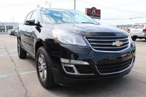 2016 Chevrolet Traverse for sale at B & B Car Co Inc. in Clinton Township MI