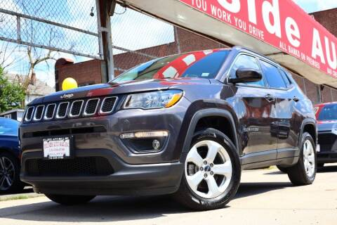 2018 Jeep Compass for sale at HILLSIDE AUTO MALL INC in Jamaica NY
