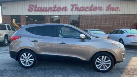 2012 Hyundai Tucson for sale at STAUNTON TRACTOR INC in Staunton VA