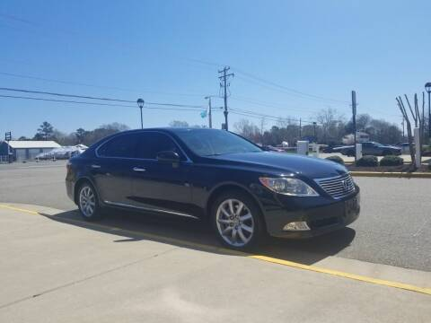 2007 Lexus LS 460 for sale at RVA Automotive Group in North Chesterfield VA