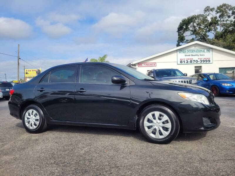 2010 Toyota Corolla for sale at Linus International Inc in Tampa FL