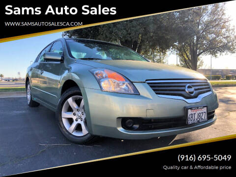 2008 Nissan Altima for sale at Sams Auto Sales in North Highlands CA