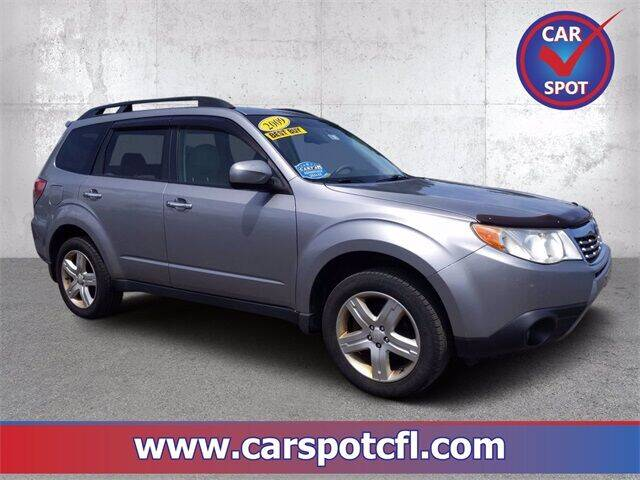 2009 Subaru Forester for sale at Car Spot Of Central Florida in Melbourne FL