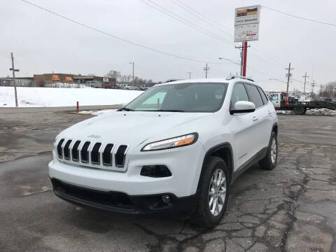 2015 Jeep Cherokee for sale at MILANA MOTORS in Omaha NE