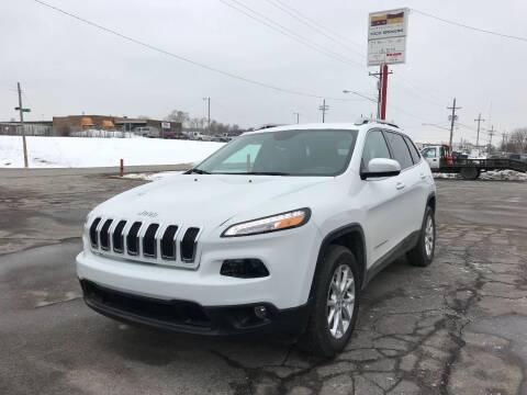 2015 Jeep Cherokee for sale at MILANA MOTORS in Omaha NE