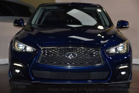 2018 Infiniti Q50 for sale at Tampa Bay AutoNetwork in Tampa FL