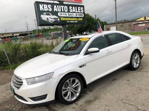 2013 Ford Taurus for sale at KBS Auto Sales in Cincinnati OH