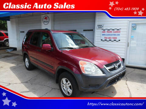 2004 Honda CR-V for sale at Classic Auto Sales in Maiden NC