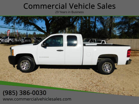 2012 Chevrolet Silverado 1500 for sale at Commercial Vehicle Sales in Ponchatoula LA