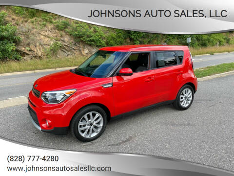 2018 Kia Soul for sale at Johnsons Auto Sales, LLC in Marshall NC