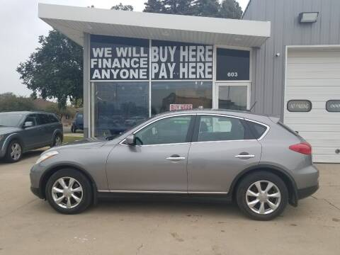 2008 Infiniti EX35 for sale at STERLING MOTORS in Watertown SD