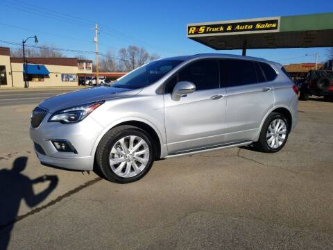 2016 Buick Envision for sale at R & S TRUCK & AUTO SALES in Vinita OK