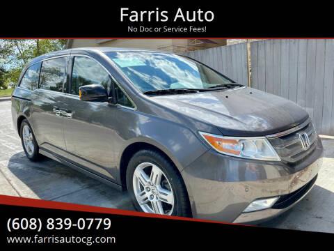 2012 Honda Odyssey for sale at Farris Auto - Main Street in Stoughton WI