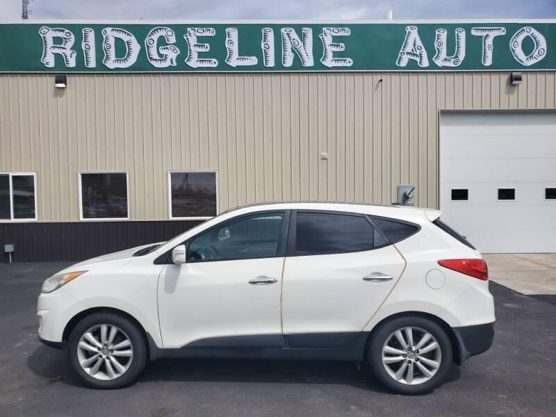 2013 Hyundai Tucson for sale at RIDGELINE AUTO in Chubbuck ID