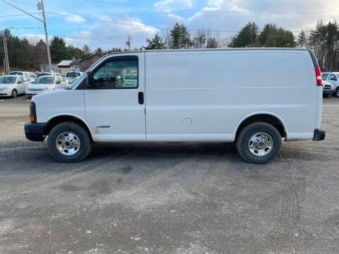 2005 Chevrolet Express Cargo for sale at Upstate Auto Sales Inc. in Pittstown NY