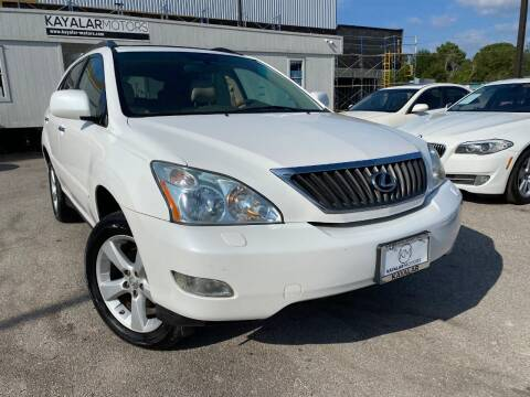 2008 Lexus RX 350 for sale at KAYALAR MOTORS in Houston TX