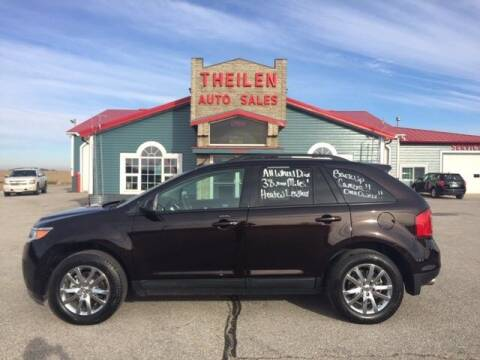 2013 Ford Edge for sale at THEILEN AUTO SALES in Clear Lake IA