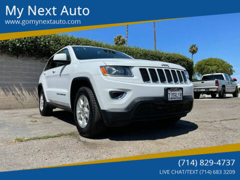 2015 Jeep Grand Cherokee for sale at My Next Auto in Anaheim CA