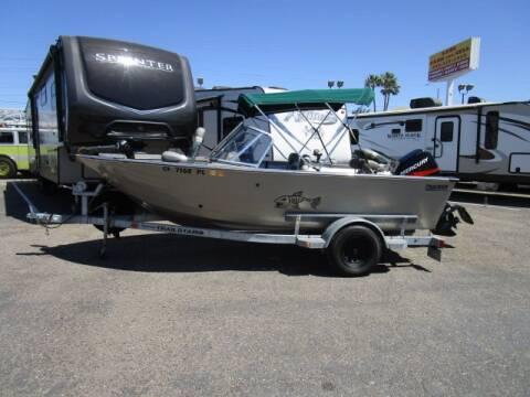 1999 Tracker Deep-V Aluminium Fishing Boat