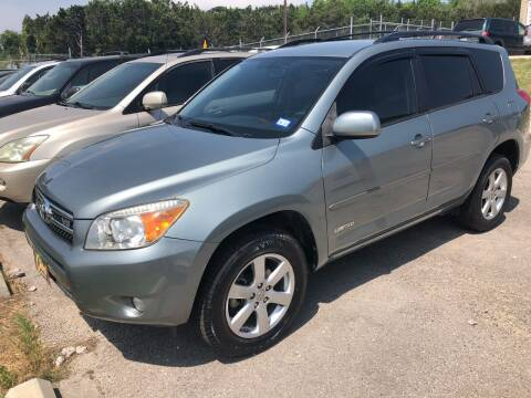 2008 Toyota RAV4 for sale at Central Automotive in Kerrville TX